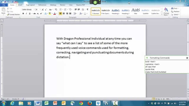 Dragon Professional Individual v15 Download for PC