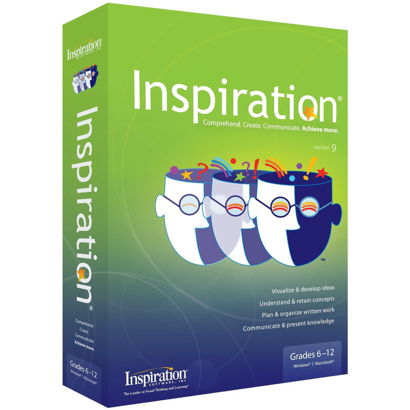 Inspiration 9.2 IE Perpetual School Site License