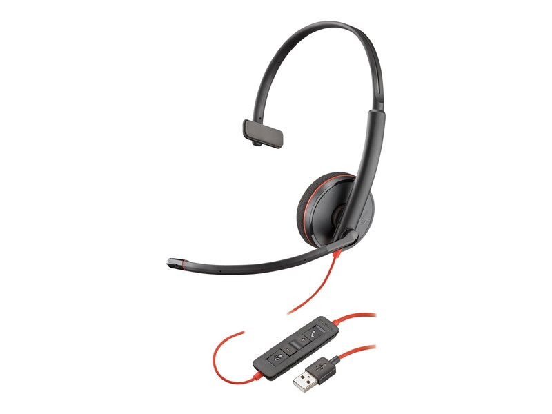 Plantronics Blackwire 3210 Monaural USB Headset