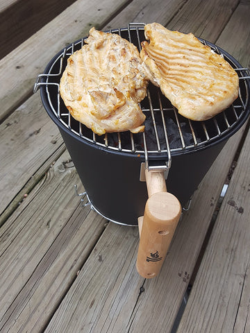Compact Small Gas Grill