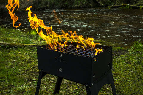 The Most compact BBQ grill is live