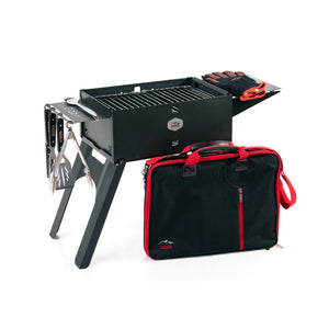 Gizzo Grill Chef Set perfect for outdoor grilling and camping