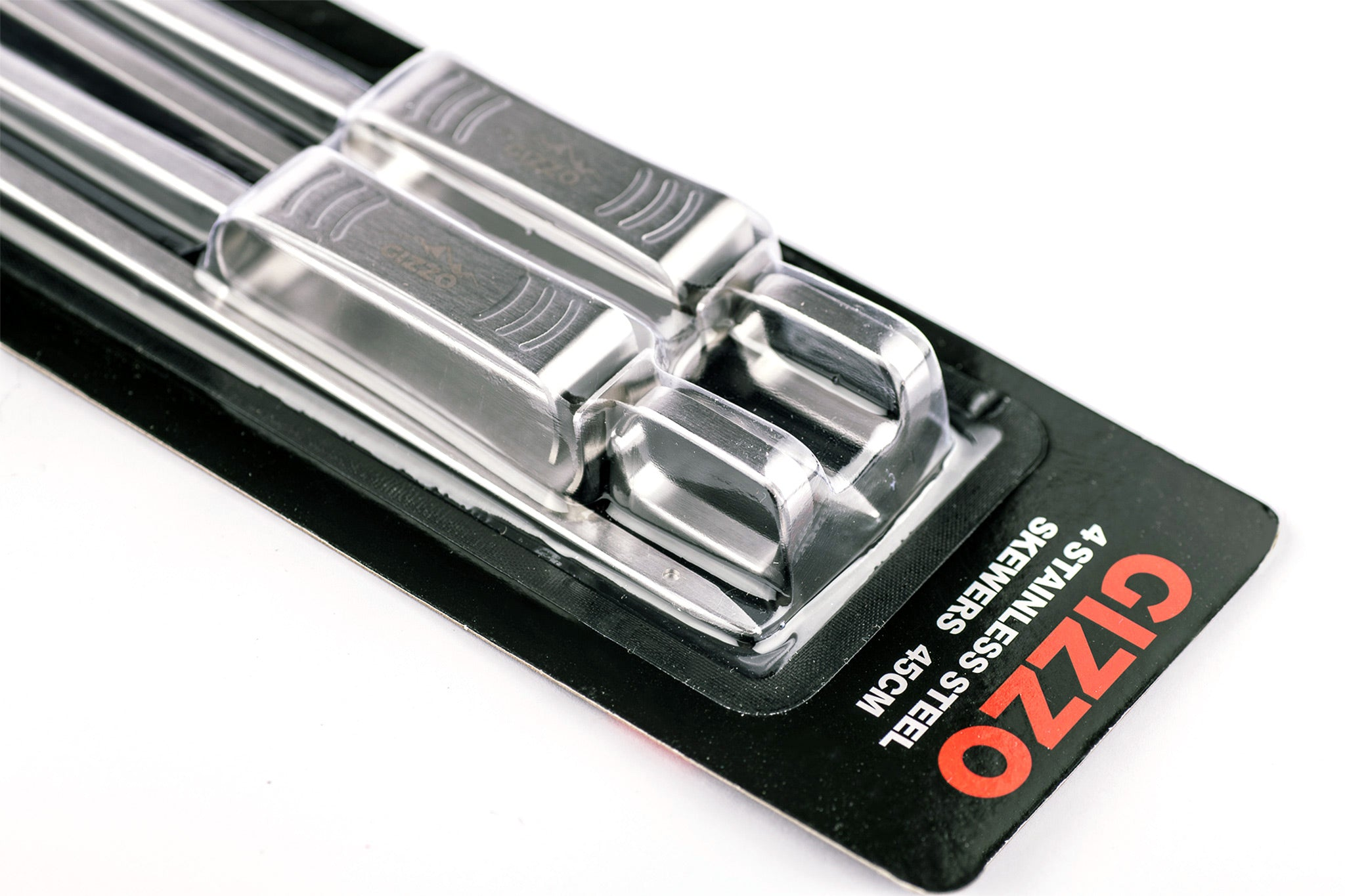 Gizzo EasySlide BBQ Skewers 4 Piece