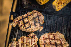 Chicken grilled on Grillgrate