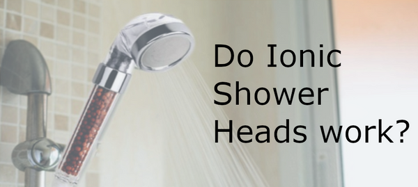 An ionic shower head.
