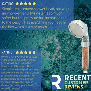 Rymerce Ionic Shower Head 3 Function