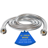 Chrome Shower Hose - ShowerStream.co.uk