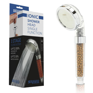 Rymerce Ionic Shower Head Single Function - ShowerStream.co.uk