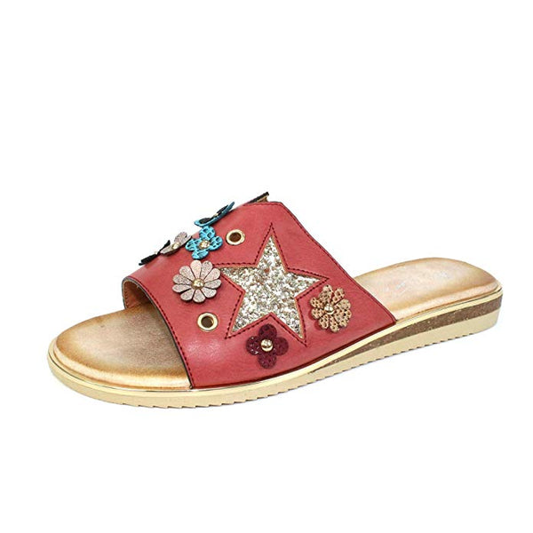 Lunar Rio Star Flower JLH-020 Red