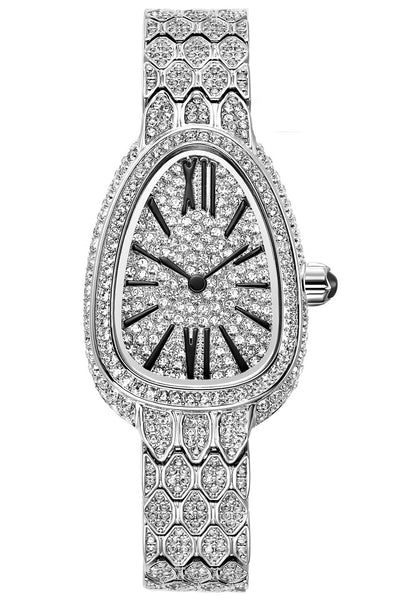 Davena Iced-Out Watch