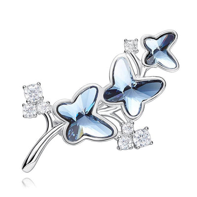 Luxury Butterfly Shaped Trendy Brooches - Davena watches