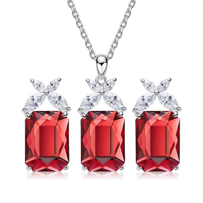 Davena 5 Colors Crystal Jewelry Set - Davena watches