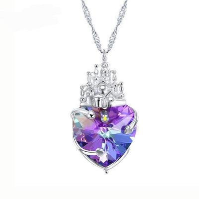 Davena Purple Castle Sexy Elegant Necklace - Davena watches