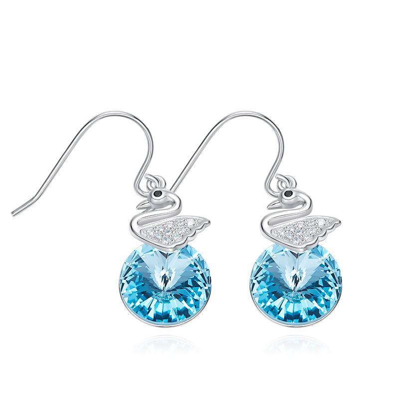 Davena Crystals from Swarovski Dangle Earring - Davena watches 99b1240d9456