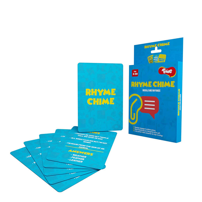 Toiing Rhyme Chime Educational Card Games for Kids
