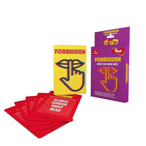 Toiing Forbidden Educational Card Games for Kids  (Multi Color)