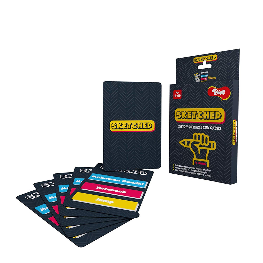 Toiing Sketched Educational Card Games for Kids