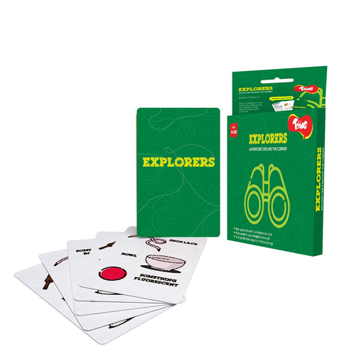 Toiing Explorers Educational Card Games for Kids