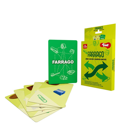 Farrago: Educational Card Game For Visual Processing
