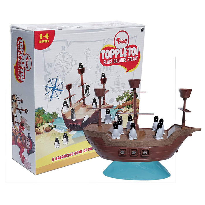 Toiing Toppletoi - A Balancing Board Game, Ideal Birthday Gift for Boys and Girls