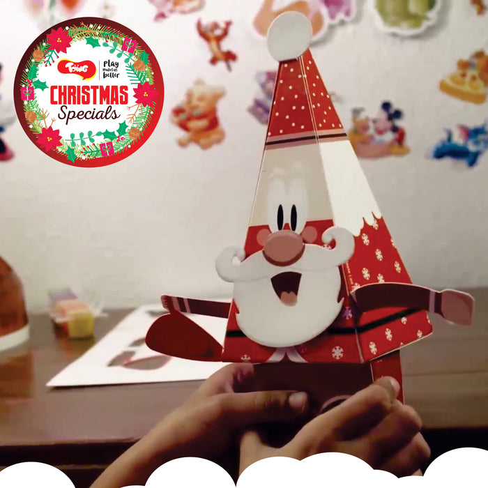 Toiing Christmas Specials: Art & Craft Combo Pack of 6, for kids of age 3 years & above