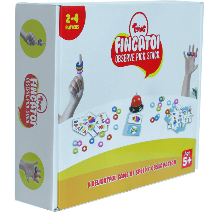 Toiing Fingatoi Fast-Paced Educational Learning Fun Game