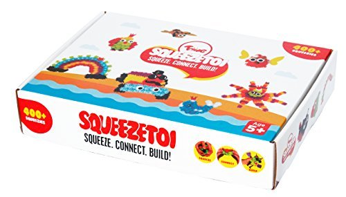 Toiing Squeezetoi - Creative Building Blocks Toy for Kids (Perfect Birthday Gift for Girls and Boys)
