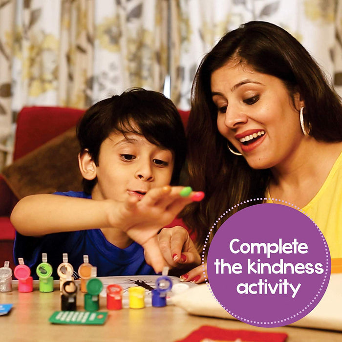 Yours Kindly - Experiential Learning Kit for 5-10 Year Old Kids to Develop Empathy & Kindness