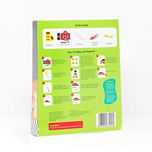 Toiing Educational Return Gift Combo - 3 Fun DIY STEM Learning Projects; Racertoi + Paddletoi + Fidgetoi…