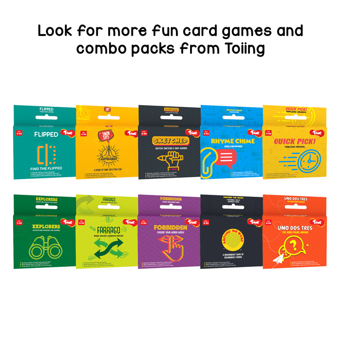 Around The Word: Word Finding Card Game To Develop Vocabulary
