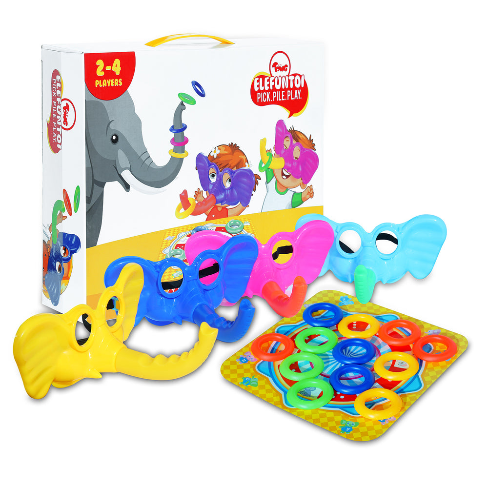Toiing Elefuntoi – Fun Hilarious Party Board Game & Toy for Kids