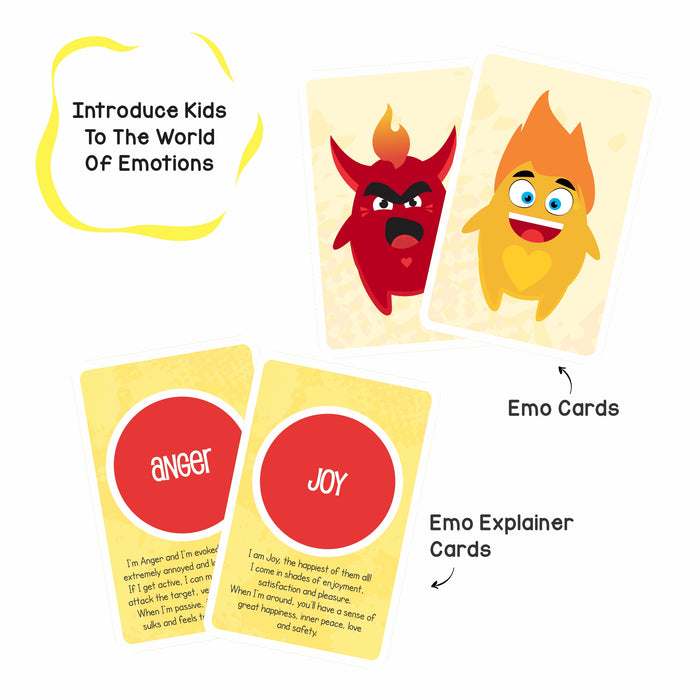 Finding Emos: 2-in-1 Memory + Bingo Game to Teach Emotions
