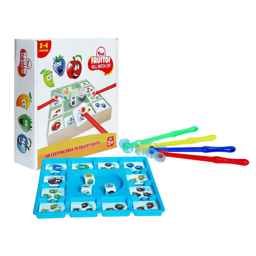 Toiing Fruitoi – Fun Educational Learning Board Game to Develop Speed & Cognitive Skills in Kids