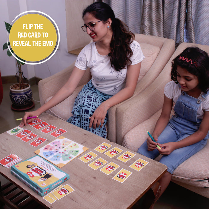 Learning Combo - Finding Emos 2-in-1 Bingo Game, Puzzletoi India 3-in-1 Jigsaw Puzzle & Flipped Card Game