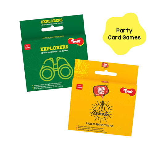 Party Card Games Combo Pack of 2, for Kids Age 3 Years and Above