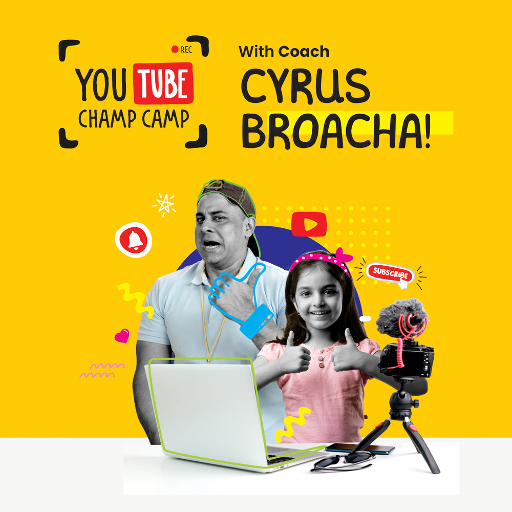 YouTube Champ Camp with Cyrus Broacha - Video Content Creation Course for Kids