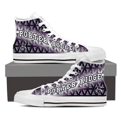 Porter Ridge Girls High Tops - TRI-ANGEL