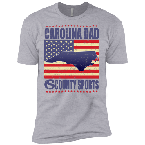 Carolina Dad - Next Level Premium Short Sleeve Tee