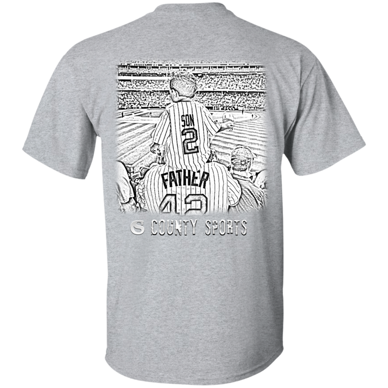Baseball Father's Day Shirt - County Sports