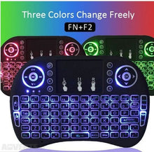I8 Color Backlight Keyboard - Atomic Media Center