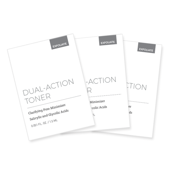 Dual Action Toner & Pads - CosMedical Technologies