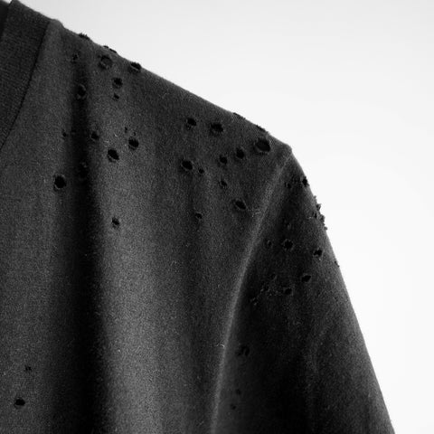 DOMREBEL - T-SHIRT WITH HOLES