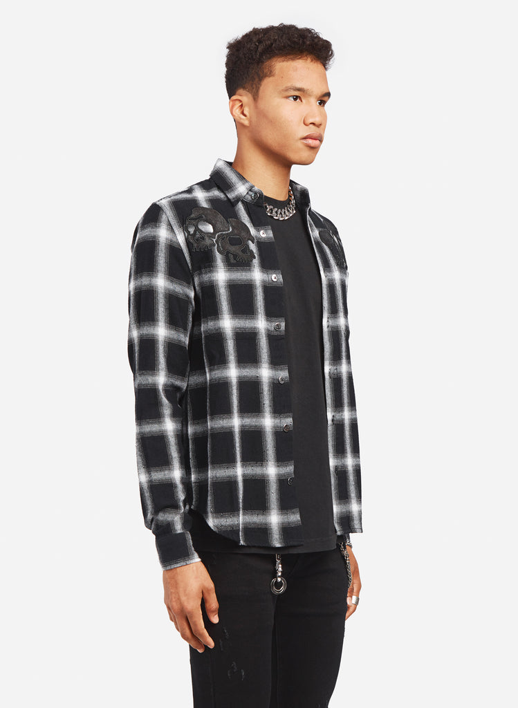 GANG PLAID SHIRT