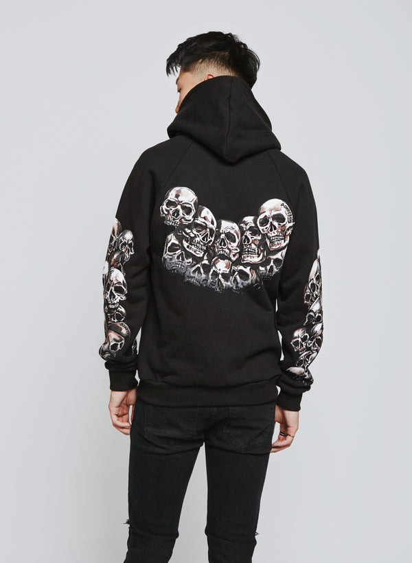 HEADS PULLOVER HOOD