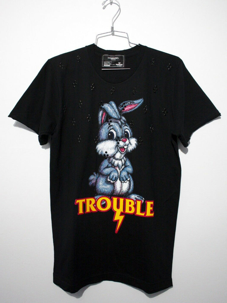 HOP T-SHIRT WITH 100 CRYSTALS (MEDIUM)