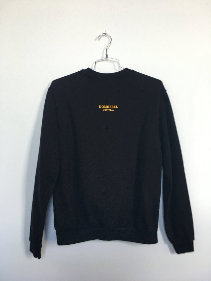 JUMPER SWEATSHIRT WITH HOLES (SMALL)