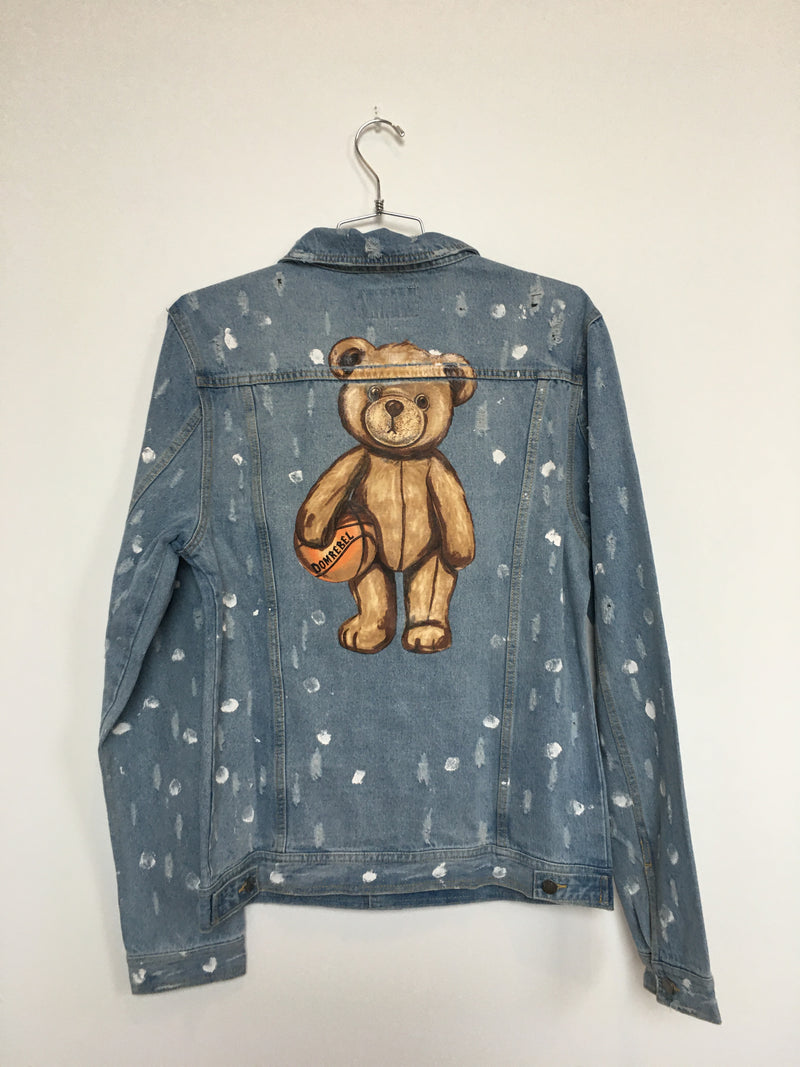DRIBBLE JEAN JACKET (MEDIUM)
