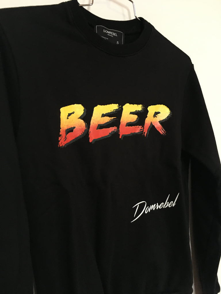 BEER SWEATSHIRT (SMALL)