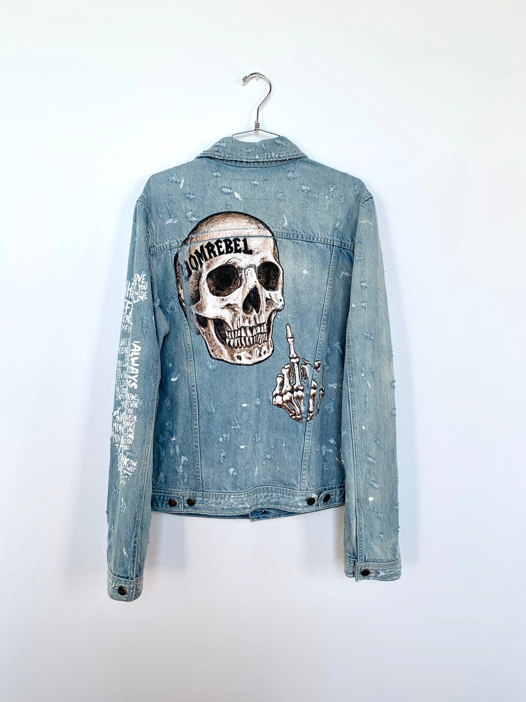 FLIP JEAN JACKET SAMPLE (MEDIUM)