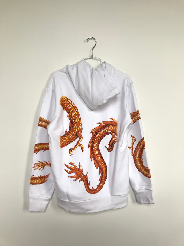 DRAGON ZIP HOODIE (MEDIUM)